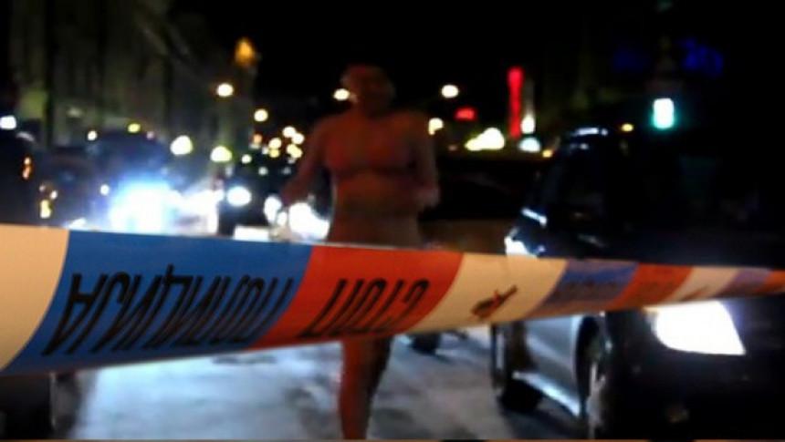 Gola na ulici: Žena digla Niš na noge