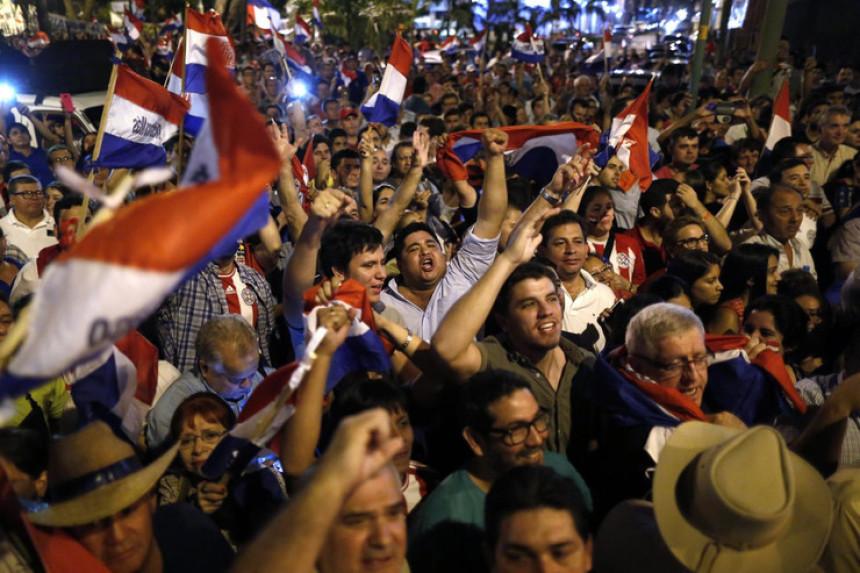 Hiljade ljudi na ulicama Paragvaja