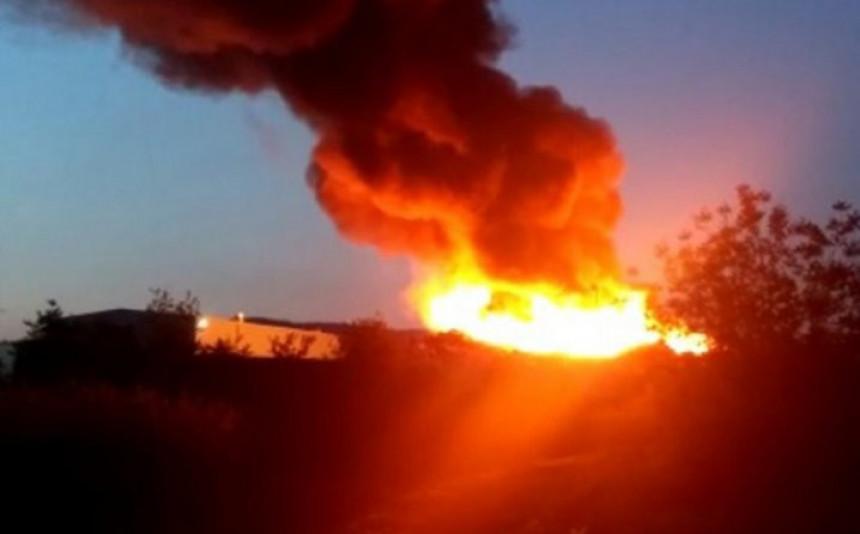 Veliki požar u Zagrebu