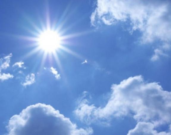 Danas sunčano uz malu oblačnost
