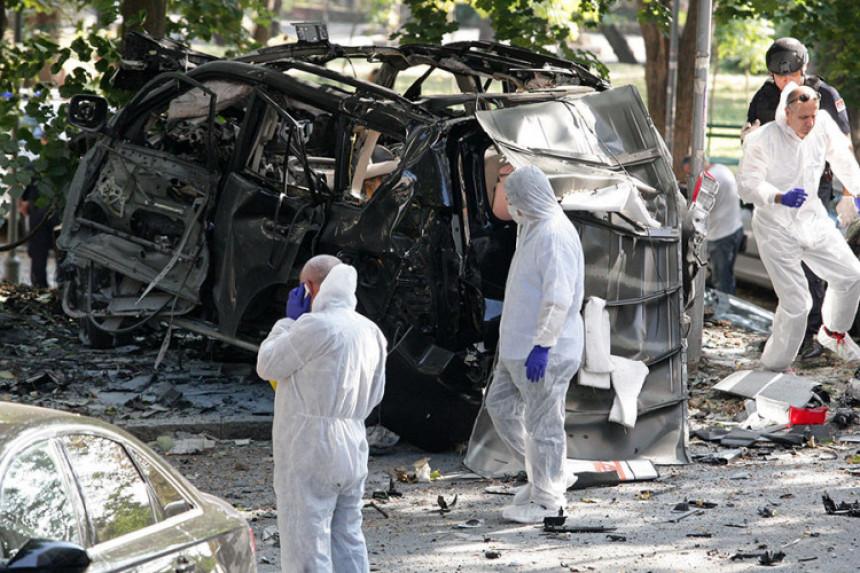 Eksplozija auta: Meta bio momak