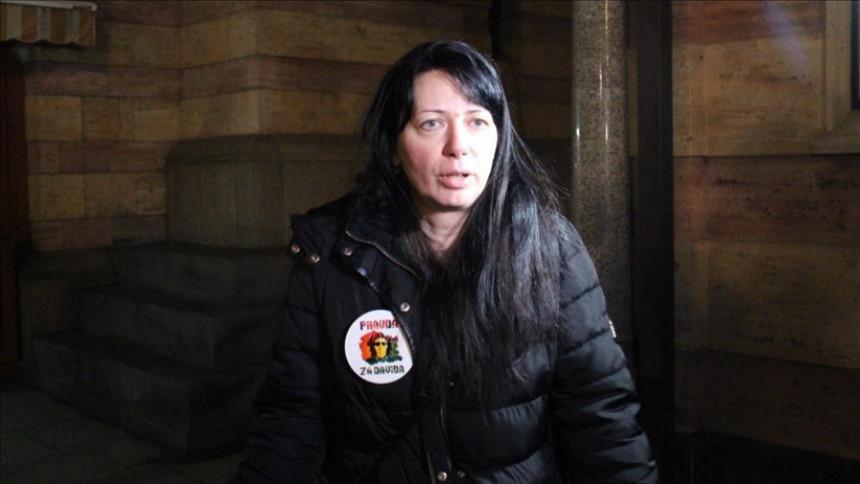 Мајка Давида Драгичевића на суду 14. октобра