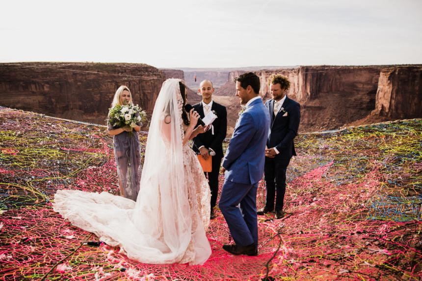 Najopasnije vjenčanje ikada održano