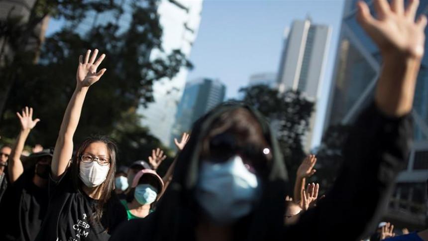 Hongkong ključa: Sukob policije i demonstranata