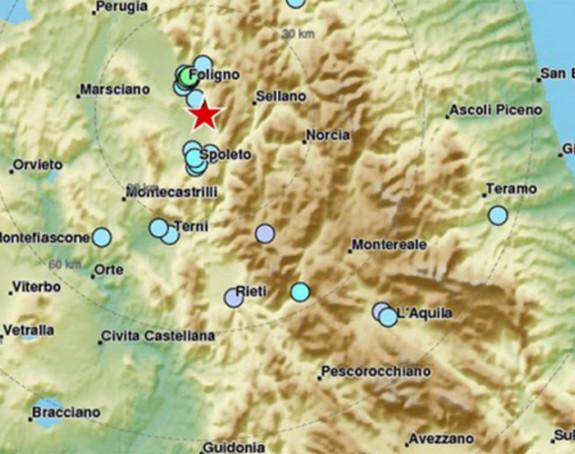 Zemljotres pogodio centralnu Italiju