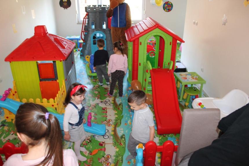 Podrška projektu dječije igraonice
