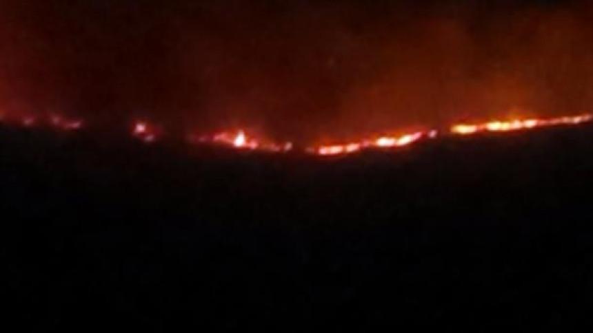 Leotar u plamenu
