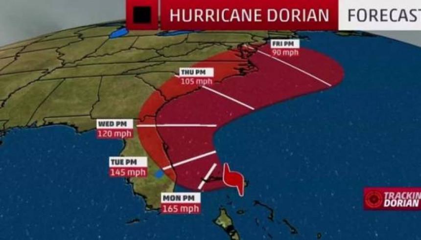 U toku evakuacija stanovnika u nekoliko okruga