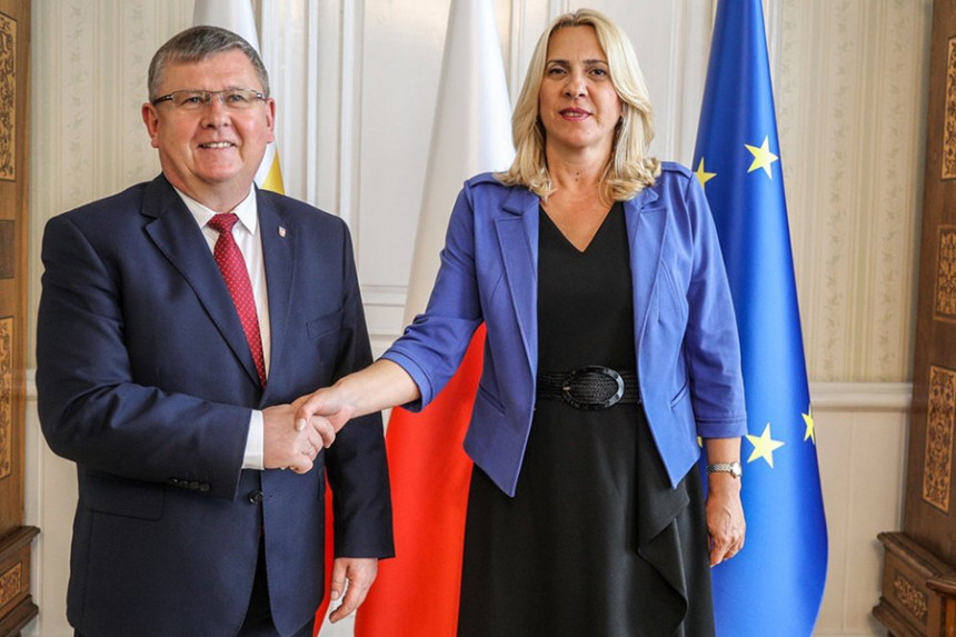 Cvijanovićeva u Poljskoj: Važno govoriti o Evropi
