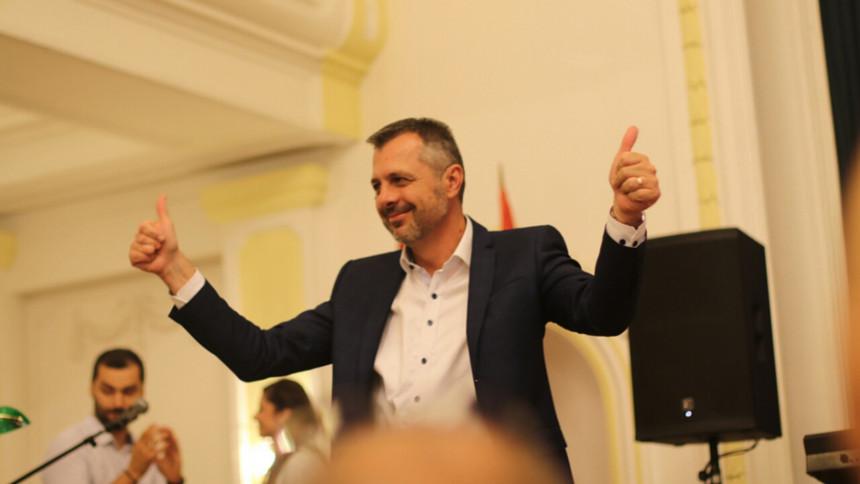 Radojičić slavi pobjedu u Banjaluci