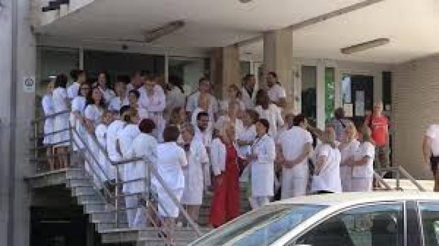 Masovni protesti medicinara iz KS u ponedjeljak