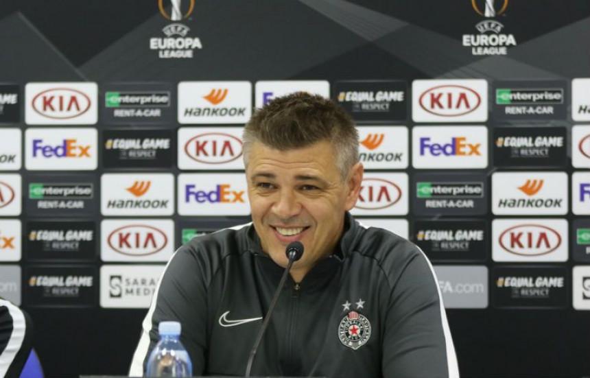 LE - Milošević: Igraćemo našu igru!