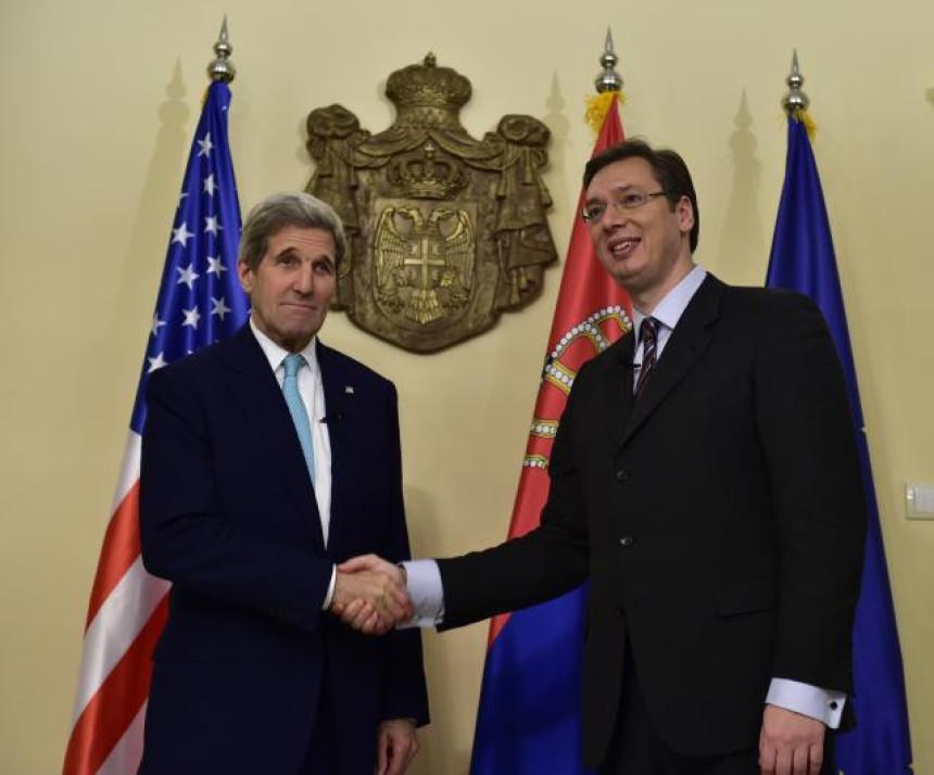 Državni sekretar Džon Keri stigao u Beograd