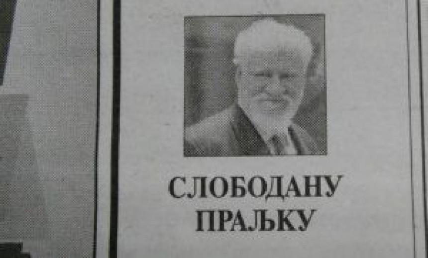 U Glasu Srpske čitulja Praljku