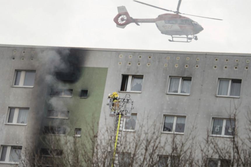 U požaru povrijeđeno 18 osoba