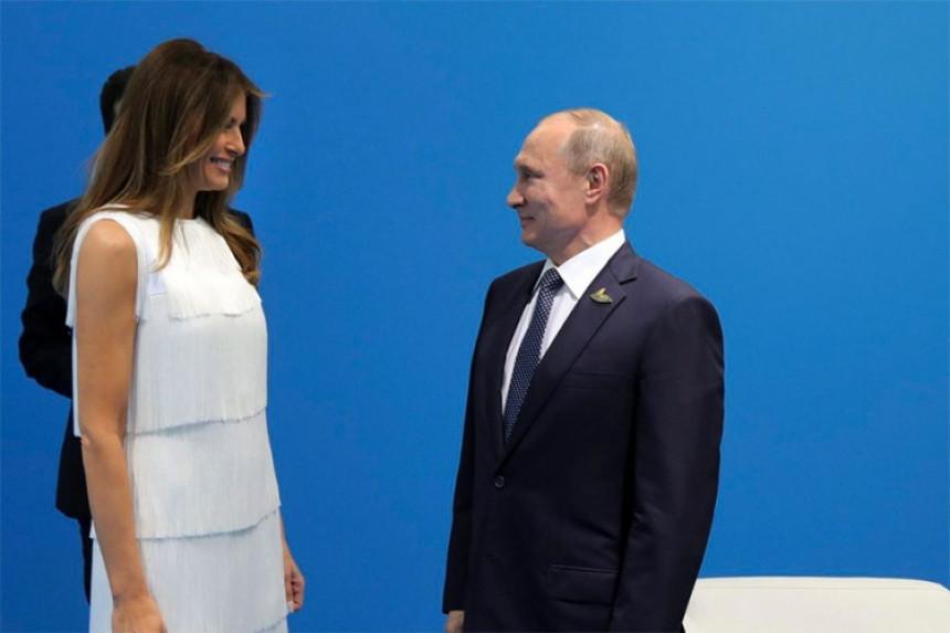 Putin oštro branio Melaniju
