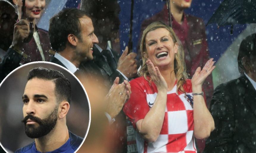 Kakav razgovor predsjednice Hrvatske i francuskog igrača...