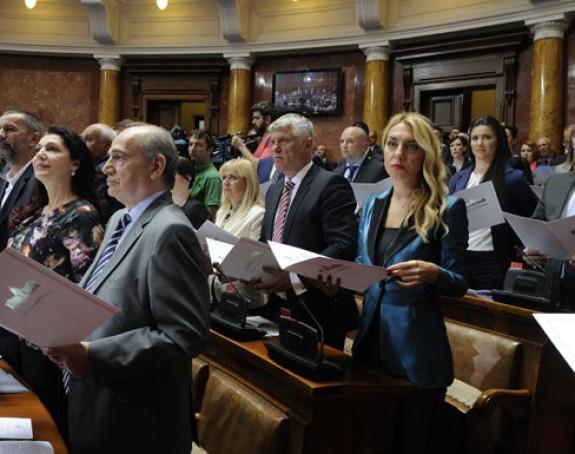Parlament: Formirano 16 poslaničkih grupa