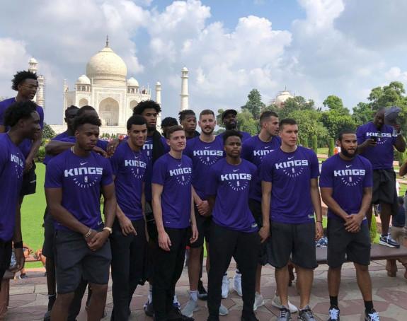 Tadž Mahal ostavio bez daha Sakramento Kingse!