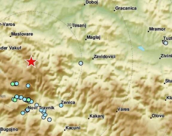Novi zemljotres u BiH, epicentar na Vlašiću (video)