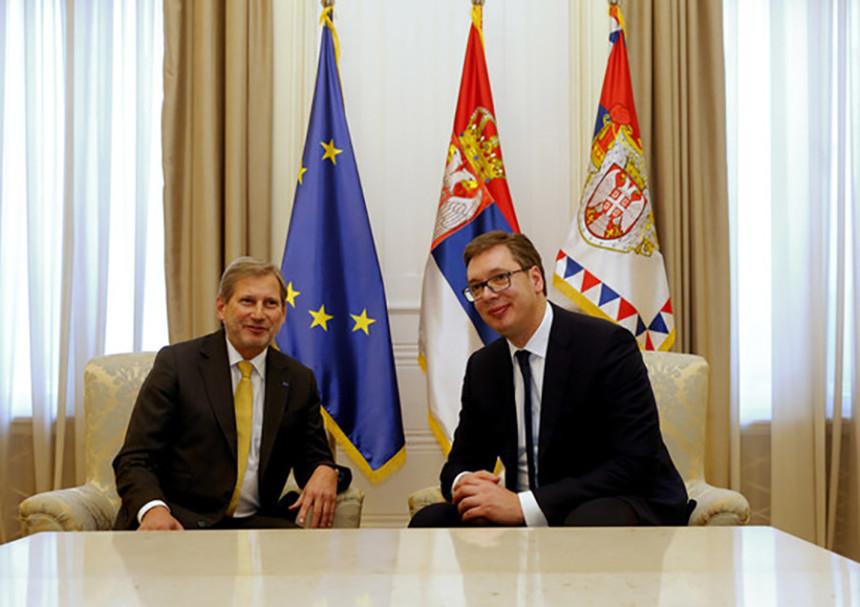 Han i Vučić o krizi na Kosmetu