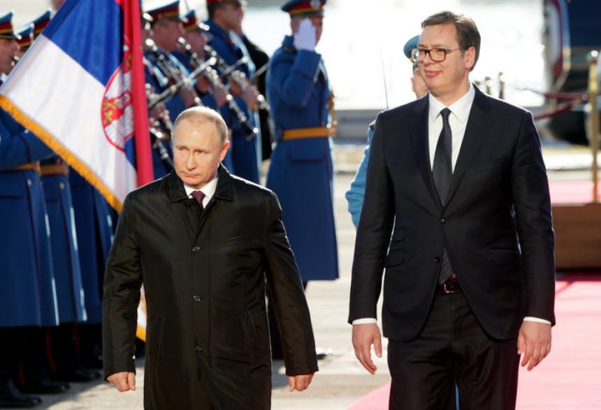 Predsjenik Vučić sutra sa Putinom u Sočiju