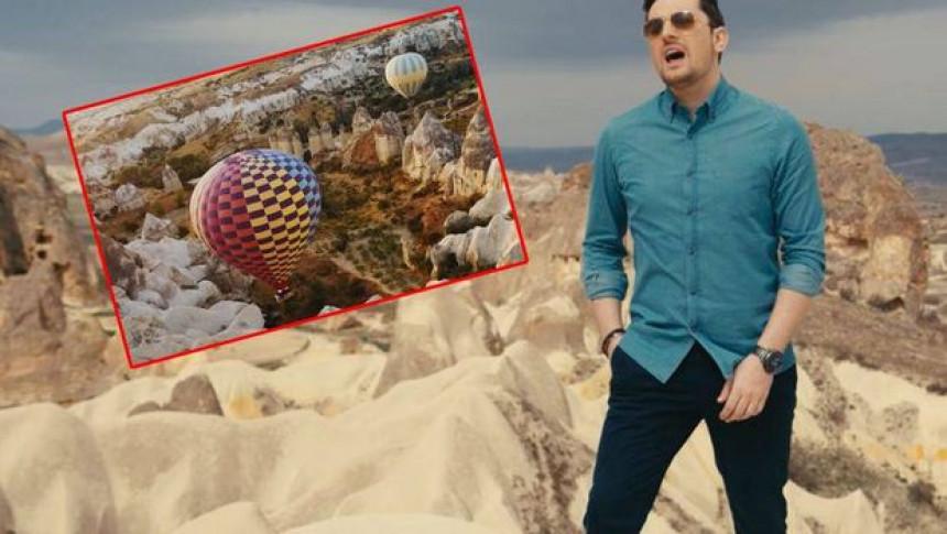 Mirza snimio spot u nestvarnoj Kapadokiji!