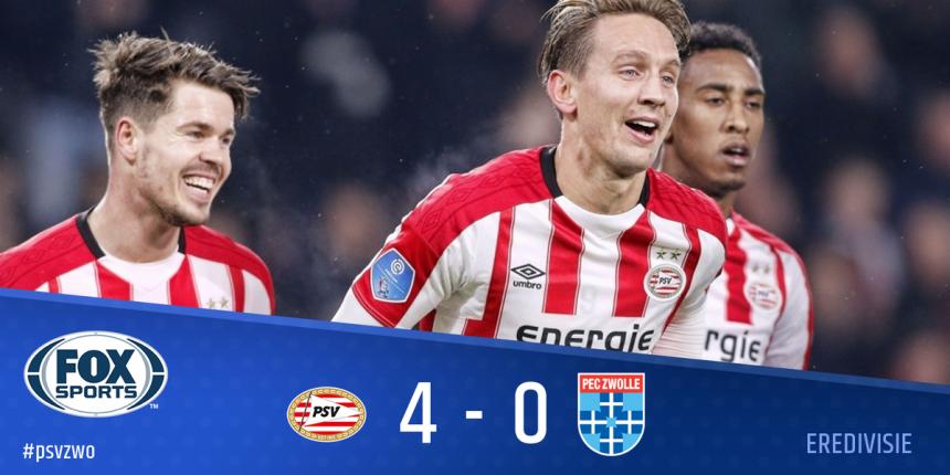 HOL: PSV razbio Zvole i opet je prvi!