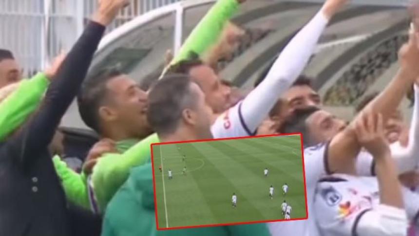 Video: Slavili gol kao Baloteli, pa primili gol!
