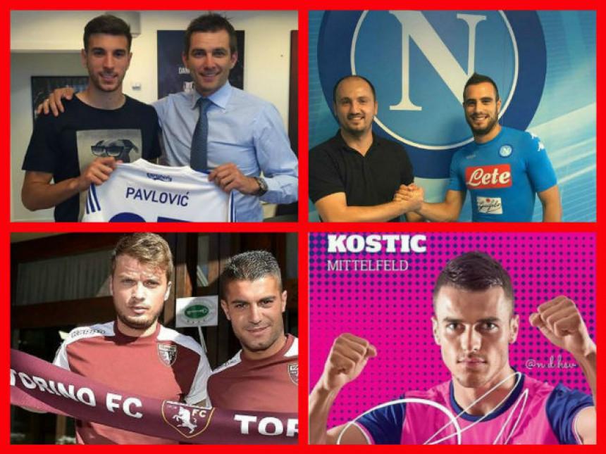 Top 10 letnjih priča: Kako su završeni najveći transferi srpskih fudbalera?!