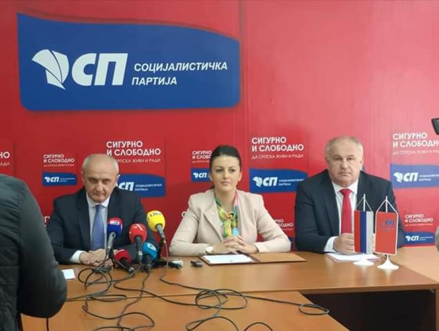 SP: Prioritet je napredak Srpske