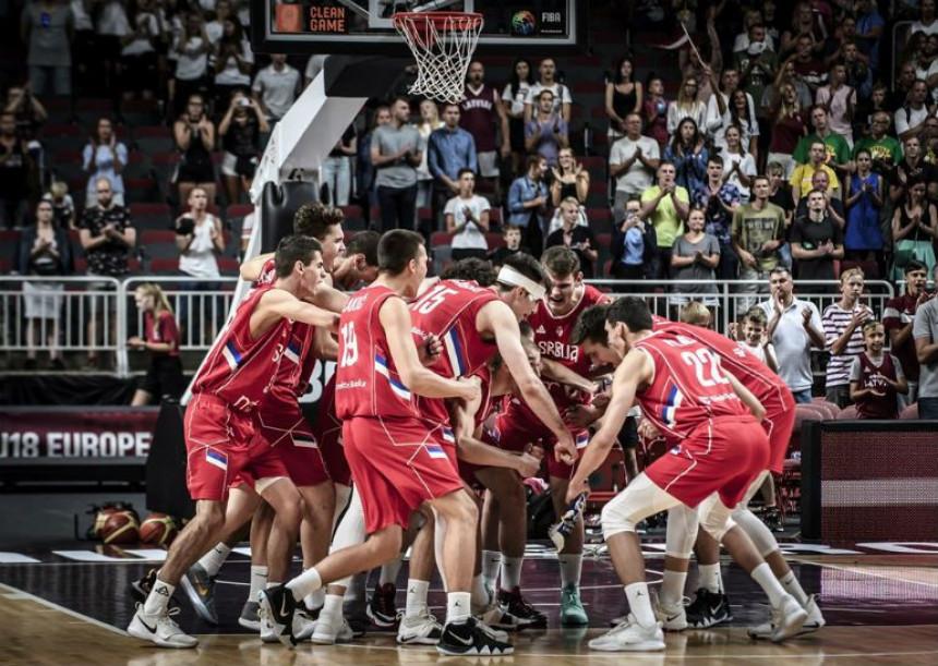 EP do 18: DOMINACIJA! Srbija je šampion Evrope!