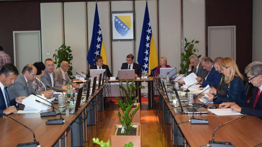 Savjet ministara usvojio sporazum