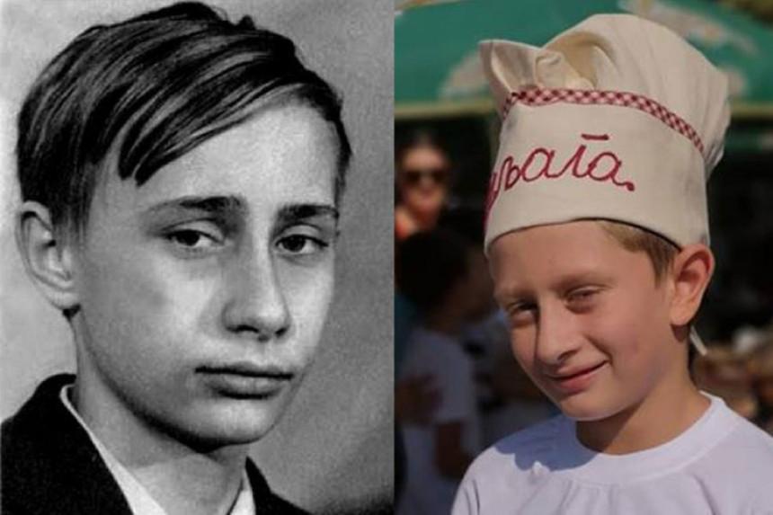 Ogromna sličnost dječaka i Putina
