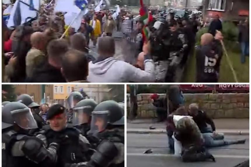 Sukobi boraca s policijom