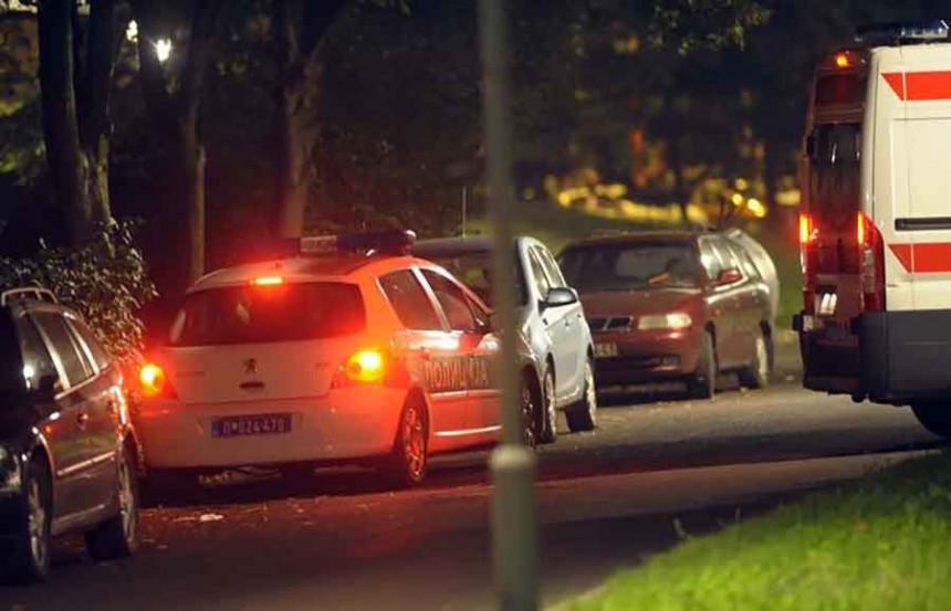 Sudar dva vozila: Jedna osoba lakše povrijeđena