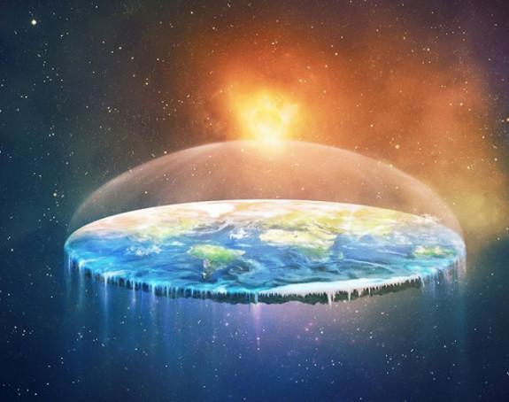 Život na Zemlji da je ravna ploča