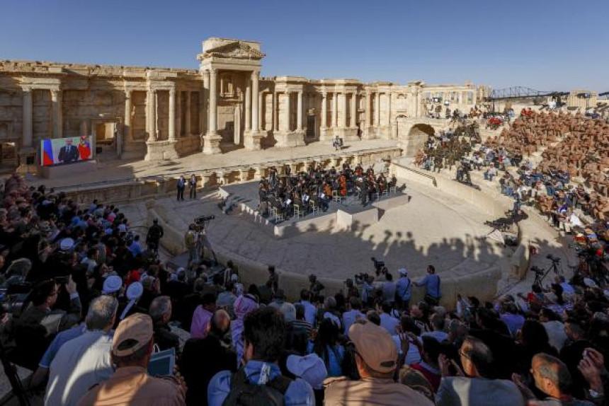 Rusi održali koncert u Palmiri