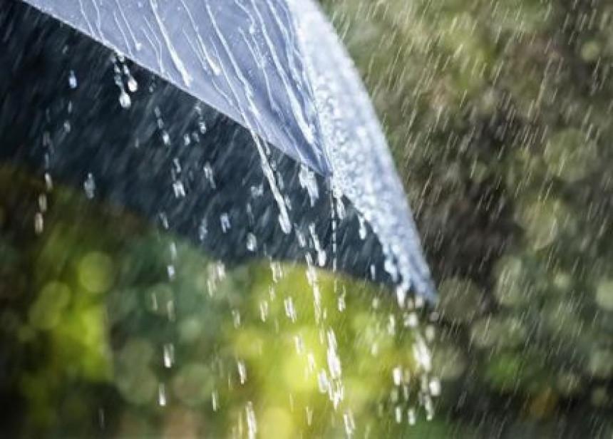 Oblačno vrijeme sa kišom