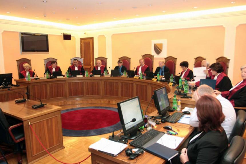 Ustavni sud BiH odbio zahtjeve