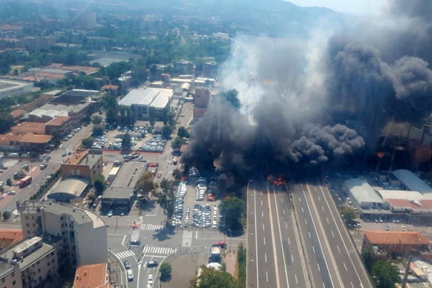 Jaka eksplozija: Dvoje poginulih
