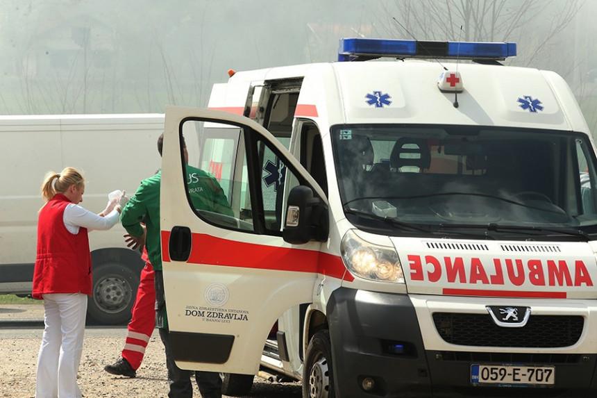 Četiri osobe su povrijeđene kod Mrkonjić Grada