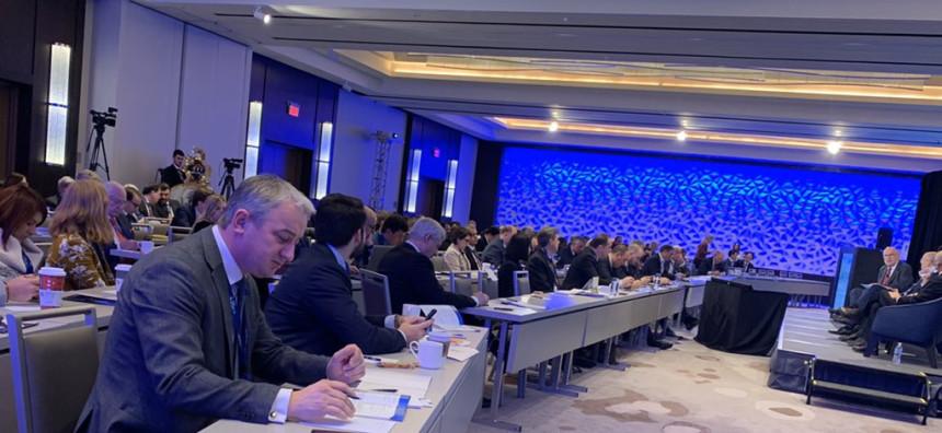 Borenović na Forumu stranaka desnog centra