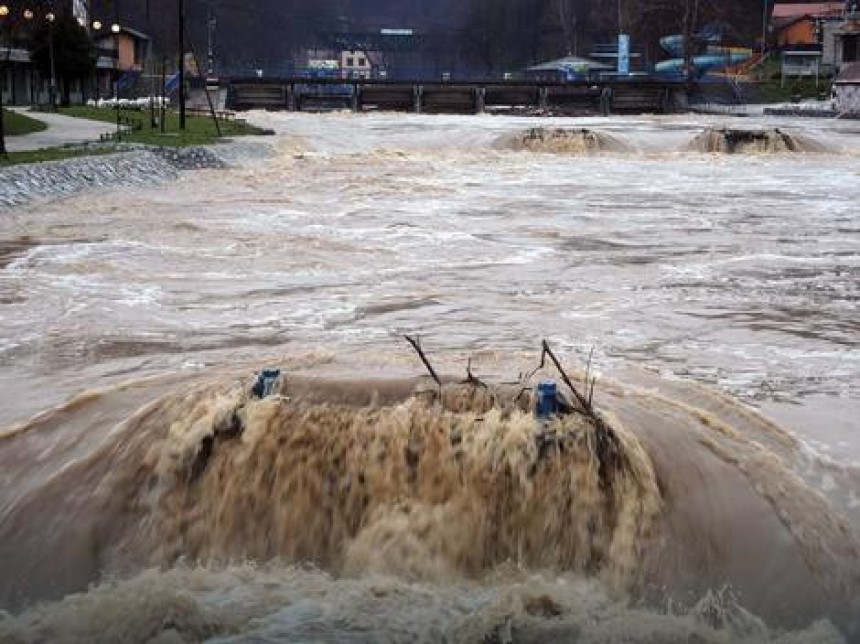 Izlile se rijeke u Srbiji, kritično kod Preljine