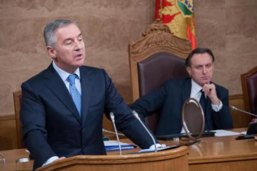Đukanović predložio nove ministre u Vladi
