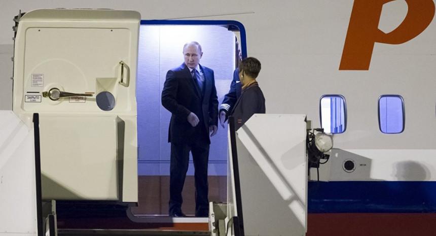 Putin stigao u Hamburg