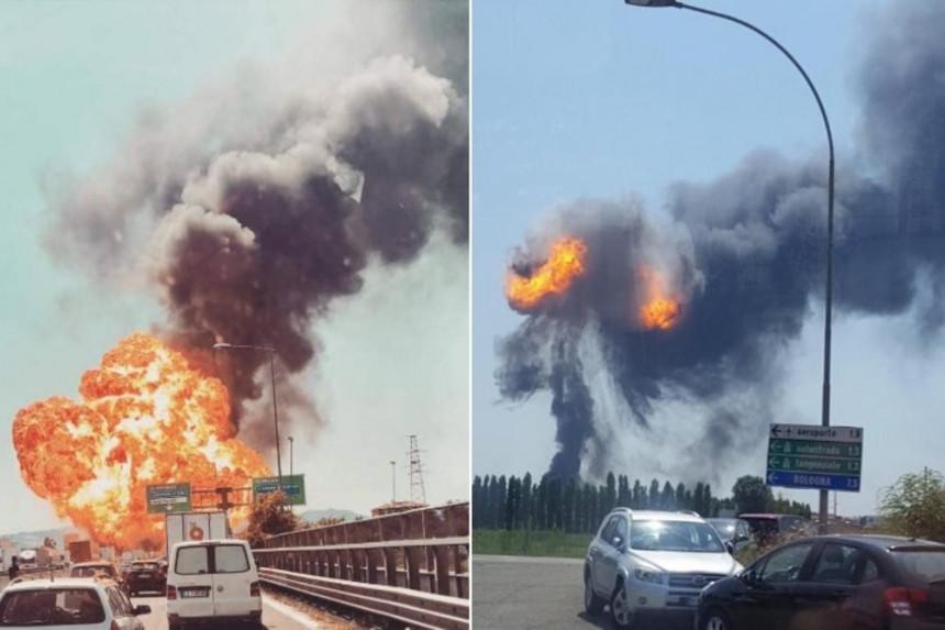 Bolonja: Objavljen snimak eksplozije