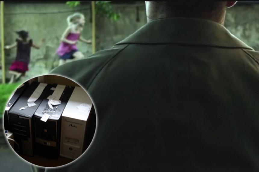 Hapšenje zbog dječije pornografije