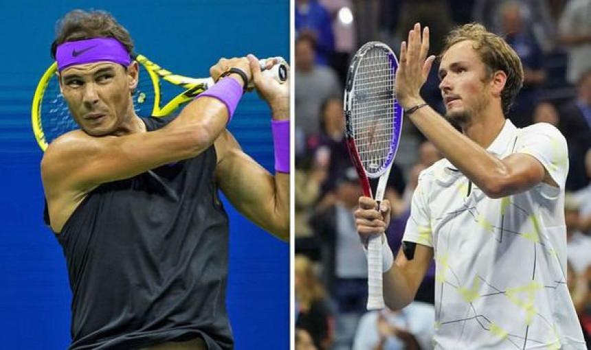 US open: U finalu Nadal - Medvedev!