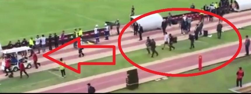 Video: Živjela Južna Amerika! Policija jurila Enera Valensiju po terenu da ga uhapsi!
